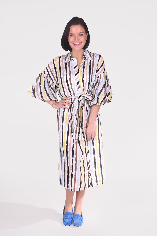 Munthe jurk Palmetto 1306 wit