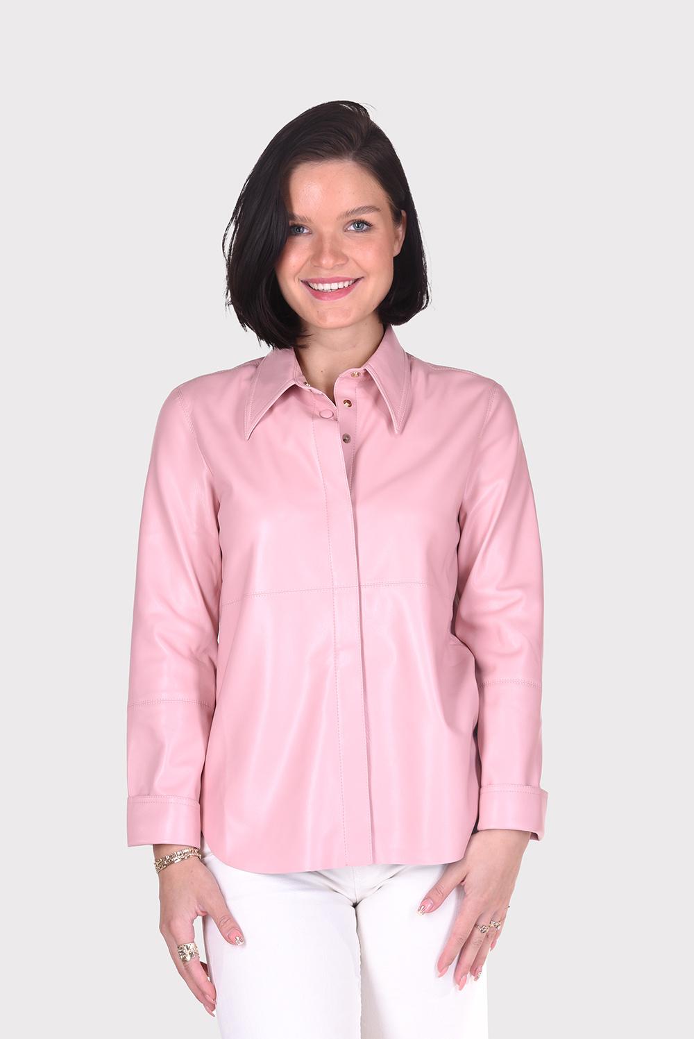 Nanushka blouse Naum NW21RSSH02432 roze