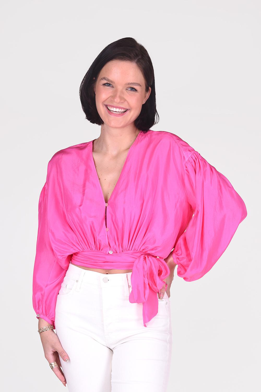 Forte_Forte blouse 8233 roze