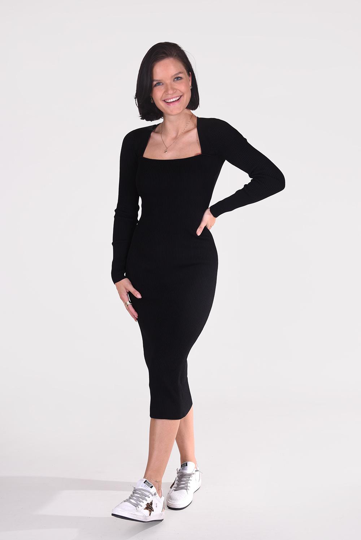 Ganni jurk K1544 zwart