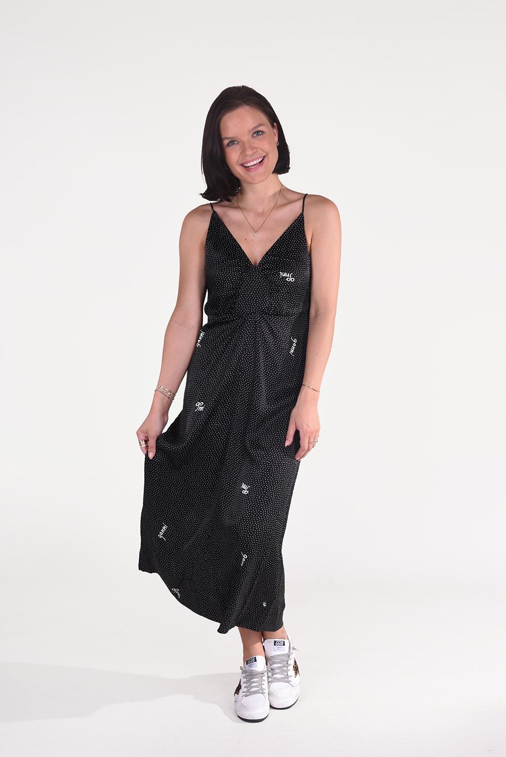 Ganni jurk F6060 zwart