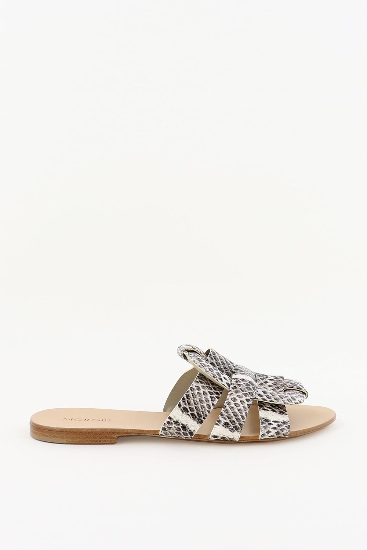 Morobe slippers Robien 51 dierenprint