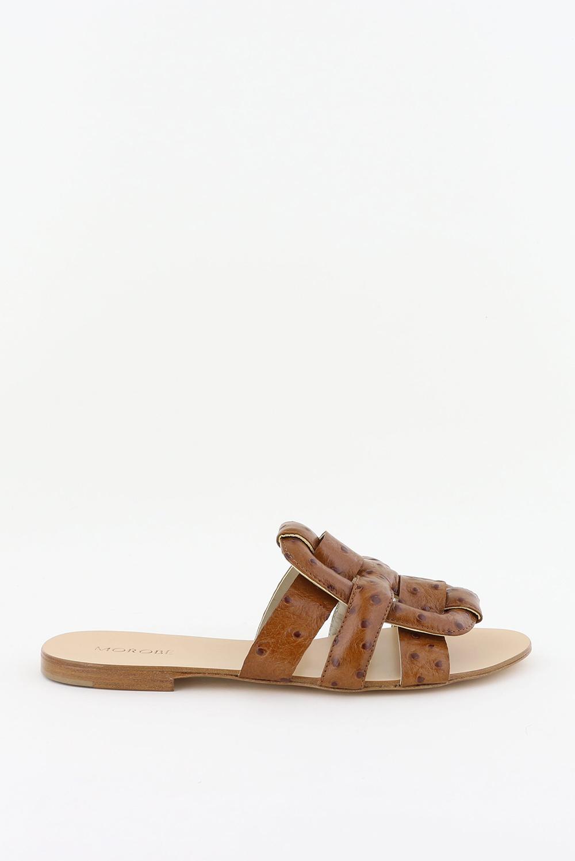 Morobe slippers Robien 53 cognac