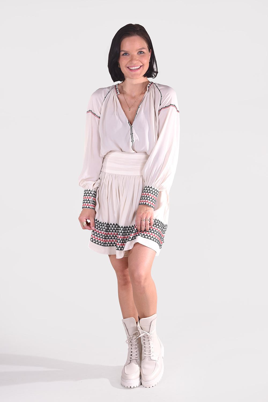Magali Pascal blouse Alexi T07 creme