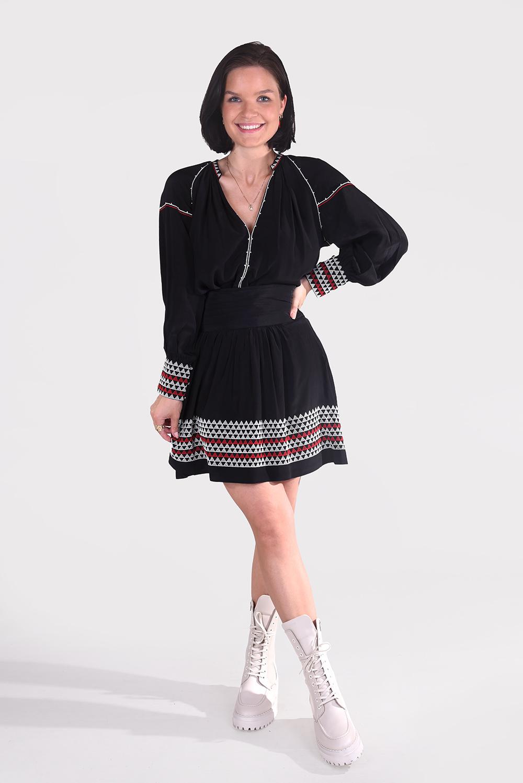 Magali Pascal blouse Alexi T08 zwart