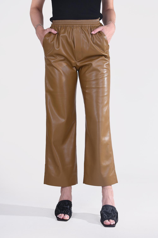Nanushka broek Odessa NW21PFPA00876 bruin