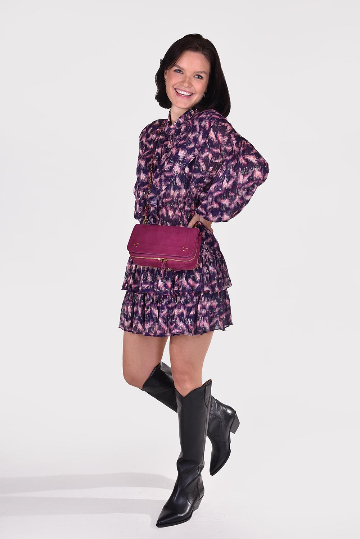 IRO jurk Tyga WP33TYGA paars
