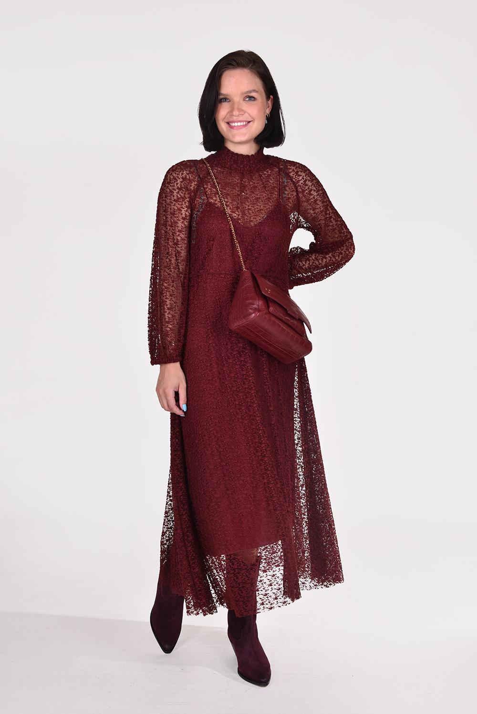 Forte_Forte jurk 8471 rood