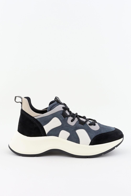 Hogan sneakers H585 HXW5850DU70P zwart