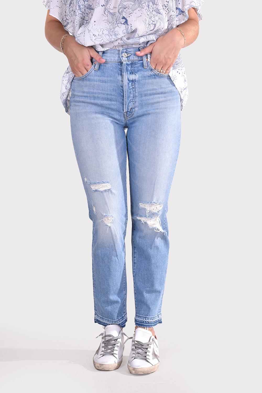 Mother jeans Hiker 10804-259 blauw