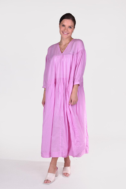 Sea Me Happy jurk Woodstock roze