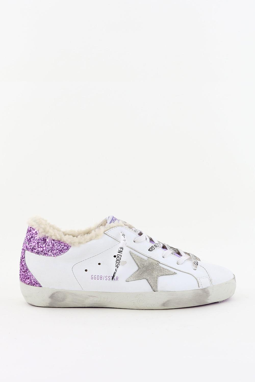 Golden Goose sneakers Superstar GWF00102.F001623 wit/paars