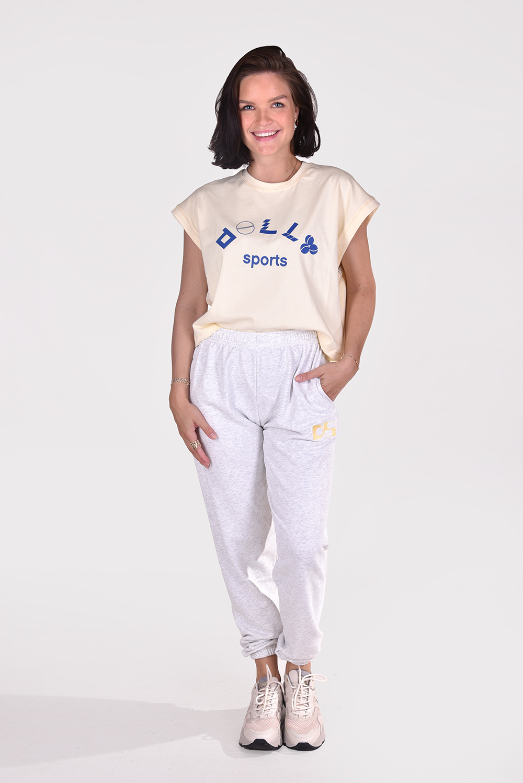 Dolly Sports t-shirt Martina geel