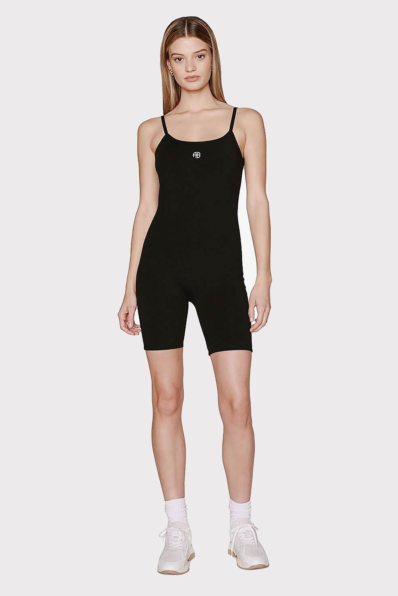 Anine Bing jumpsuit Beatrice S-02-9176-000 zwart