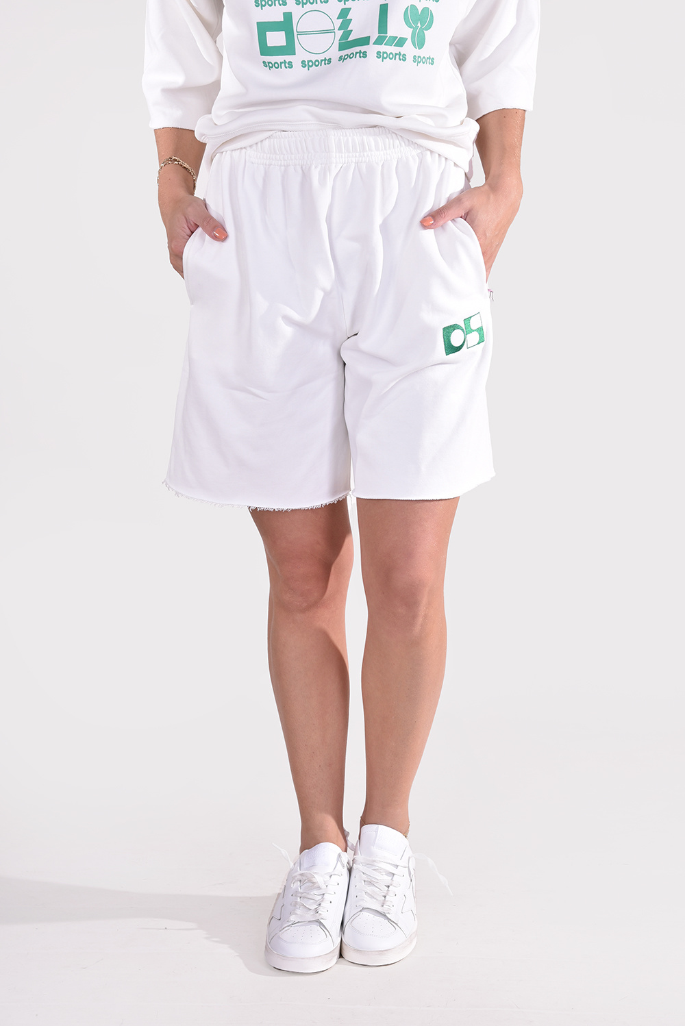 Dolly Sports short Team Dolly creme