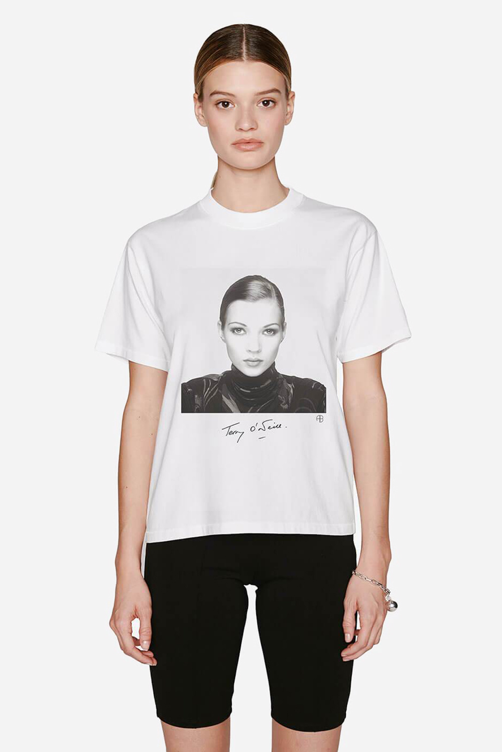 Anine Bing t-shirt Ida A-08-2003-002 wit