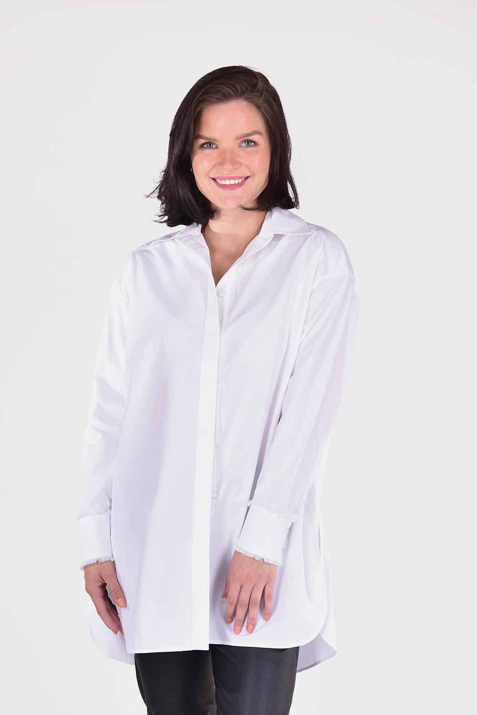 Golden Goose blouse Davia GWP00897.P000333 wit