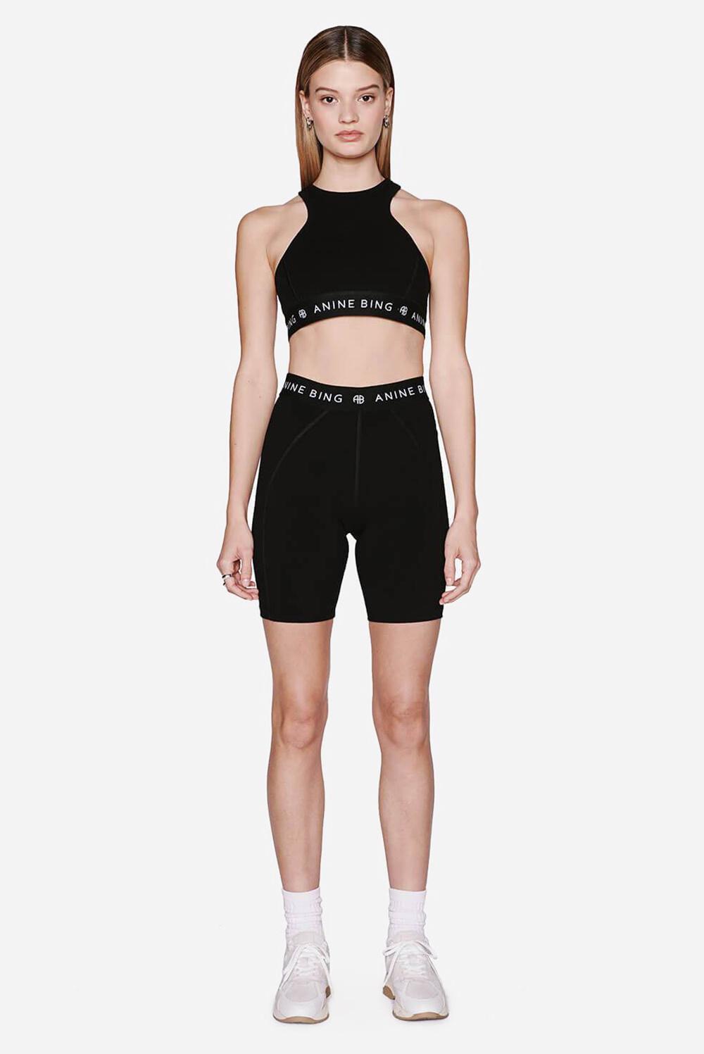Anine Bing short Carly S-05-3113-000 zwart