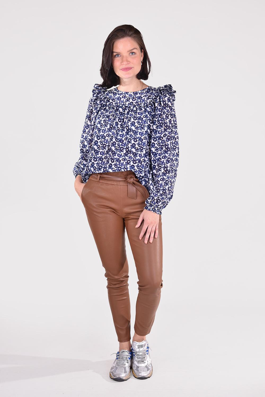 Munthe blouse Rumina 1015 blauw