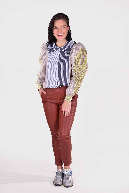 Munthe blouse Robert 1000 blauw