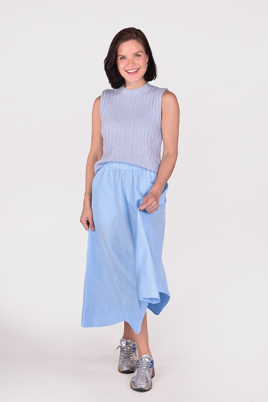 Ganni trui K1528 blauw