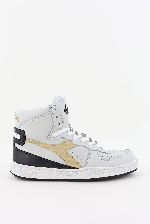 Diadora Heritage sneakers Mi Basket Used 201.158569 wit/beige
