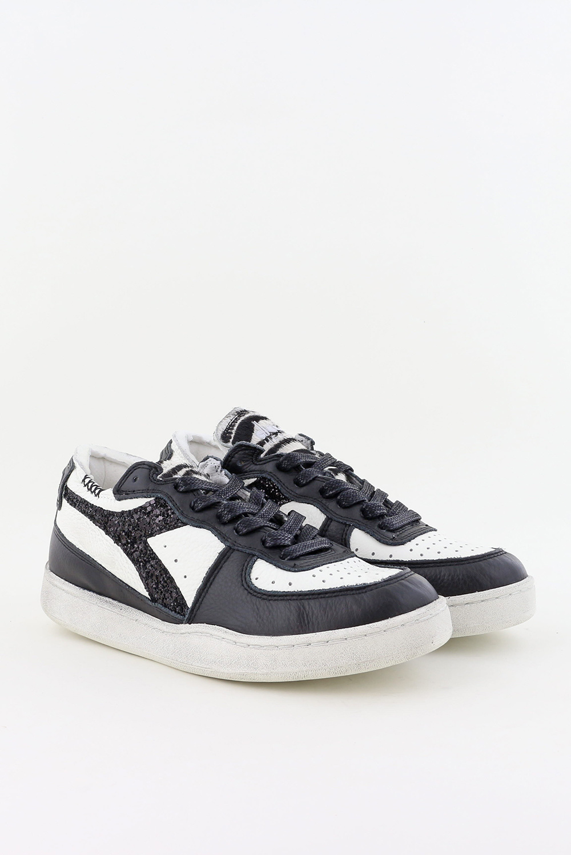 Diadora Heritage sneakers Mi Basket Row Cut 201.177826 wit/zwart