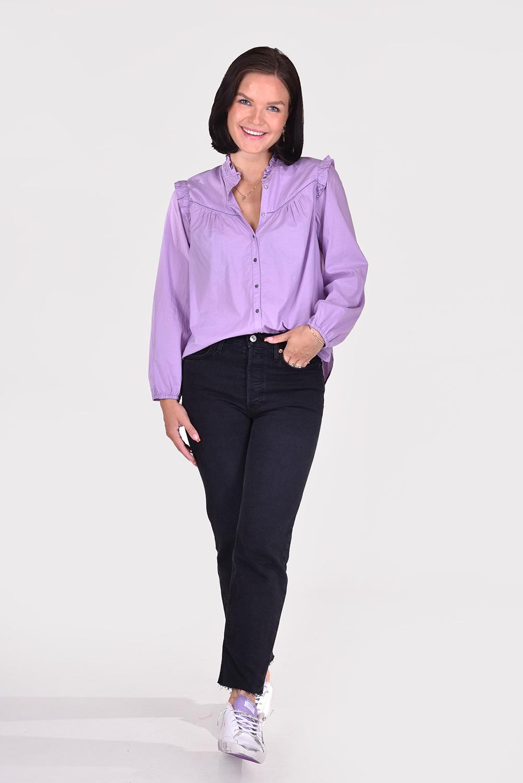 Xirena blouse Rye X15517 paars