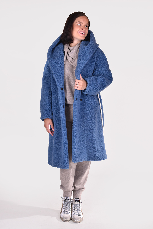 Il Cappottino jas Kitty 061 blauw