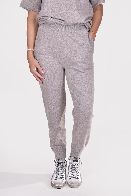 Extreme Cashmere broek Yogi 56 taupe