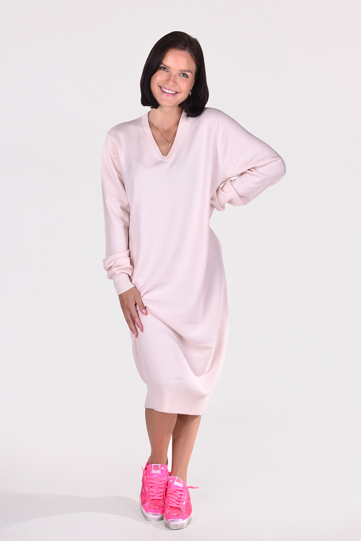 Extreme Cashmere jurk Merlin 187 talc
