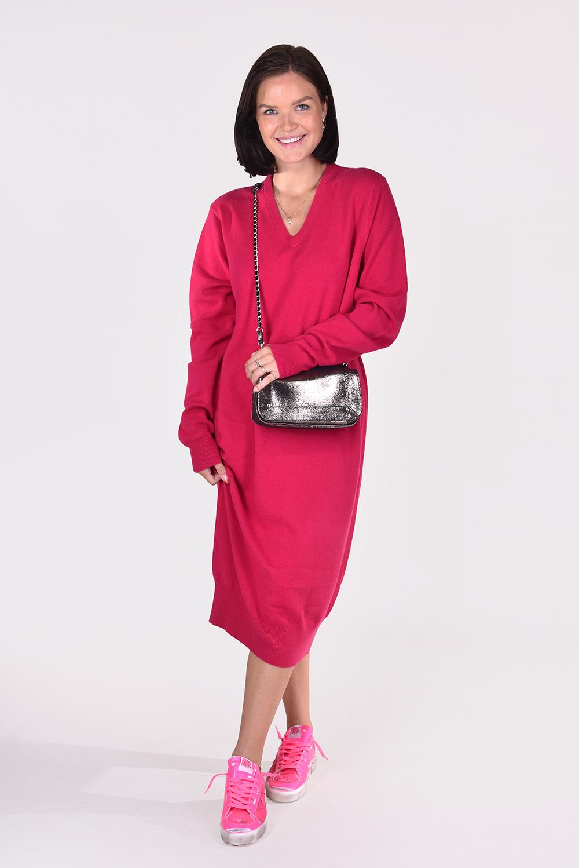 Extreme Cashmere jurk Merlin 187 roze