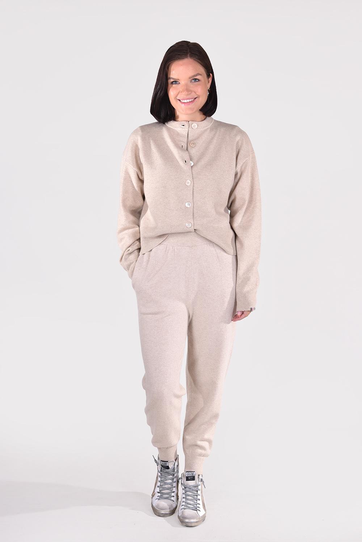 Extreme Cashmere vest Chou 170 beige