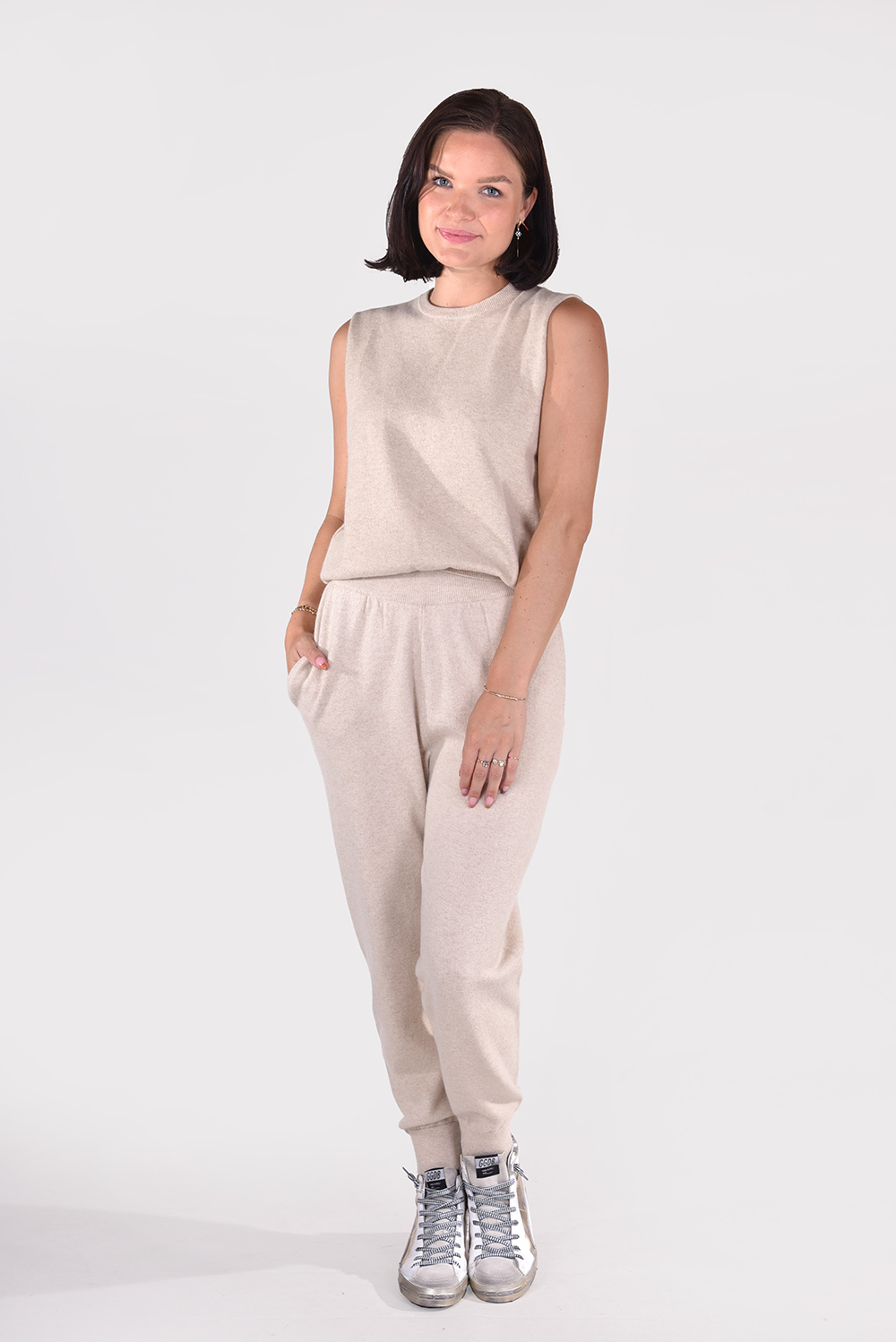 Extreme Cashmere trui Be Now 156 beige