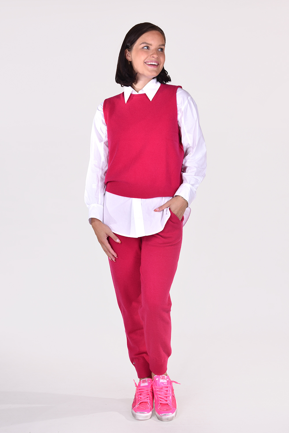 Extreme Cashmere trui Be Now 156 roze