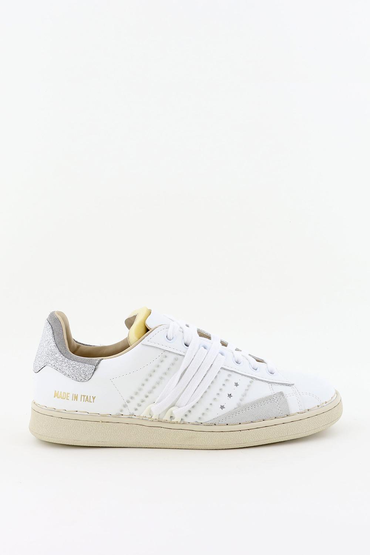 Hidnander sneakers Stripeless HC2WS150 wit/zilver
