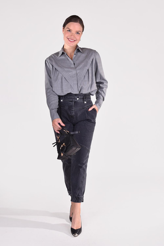IRO blouse Mevsim WM18MEVSIM grijs
