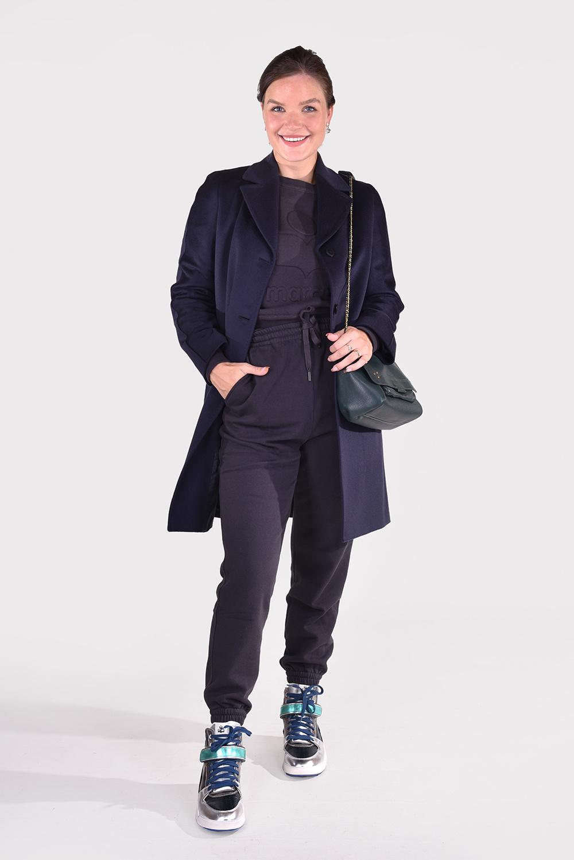 Max Mara Studio jas 3Ginger blauw