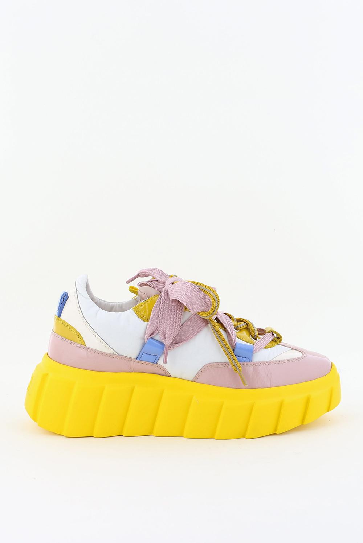 AGL sneakers D943001PGKZ069F008 geel
