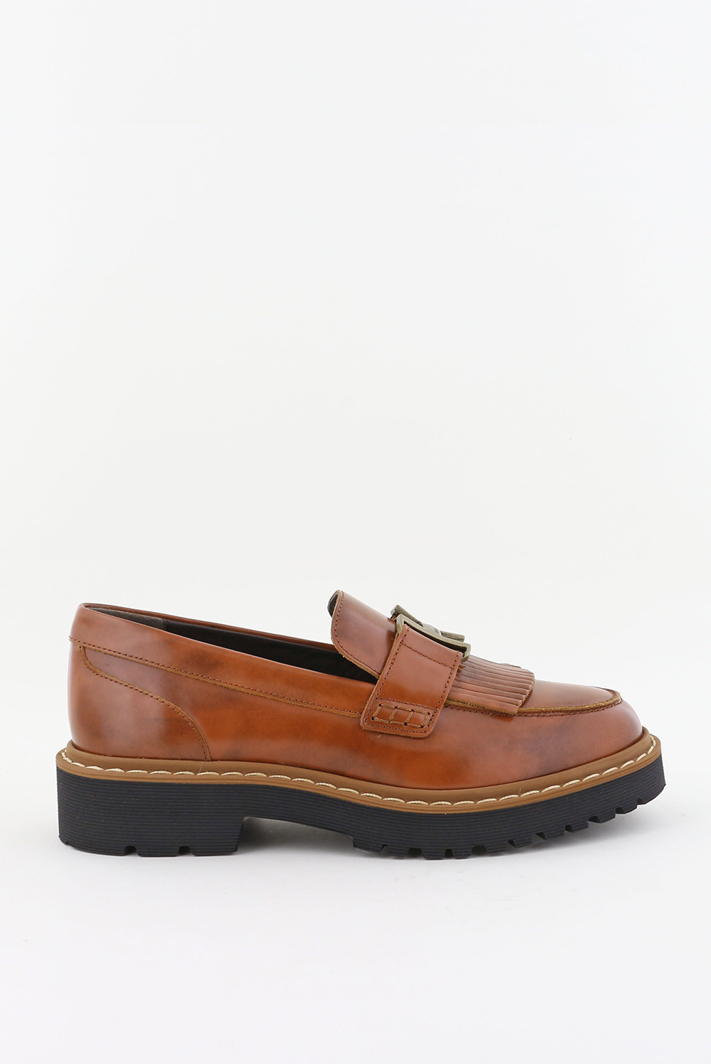 Hogan loafers HXW5430DH72Q cognac