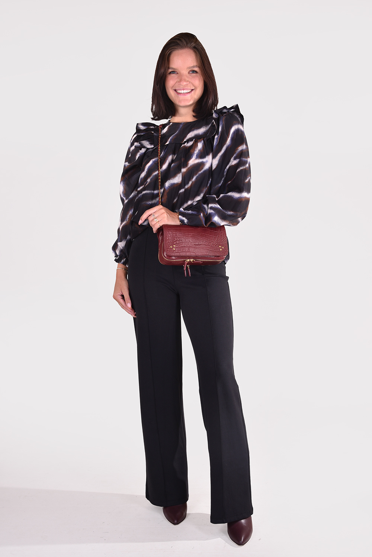 Munthe blouse Roony 1017 zwart