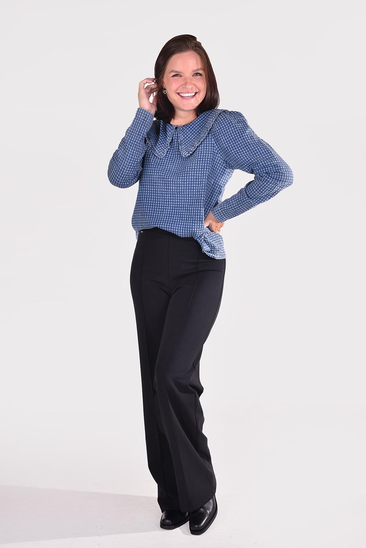 Munthe blouse Rare 1035 blauw