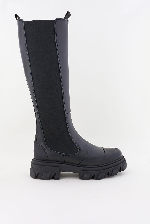 Ganni laarzen S1755 zwart