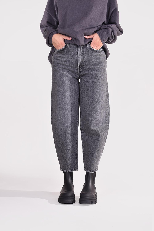 Agolde jeans Balloon A158-1346 grijs