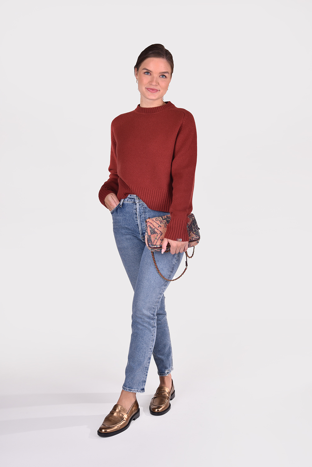 Extreme Cashmere trui Please 167 rood