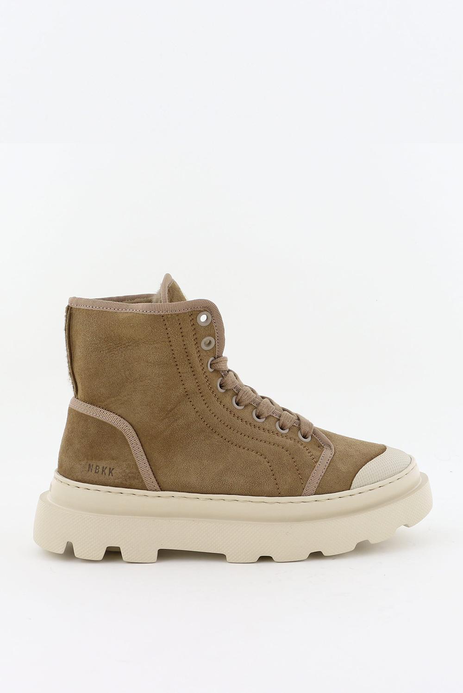 Nubikk sneakers Monro Cyrus Fur 21050701 taupe