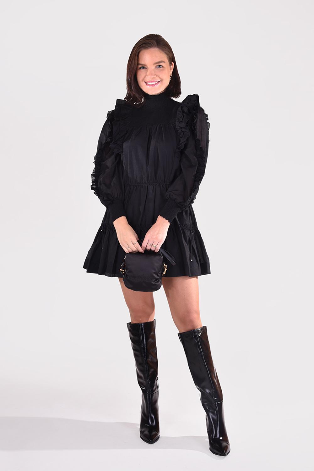 Magali Pascal jurk Laurena D20 zwart