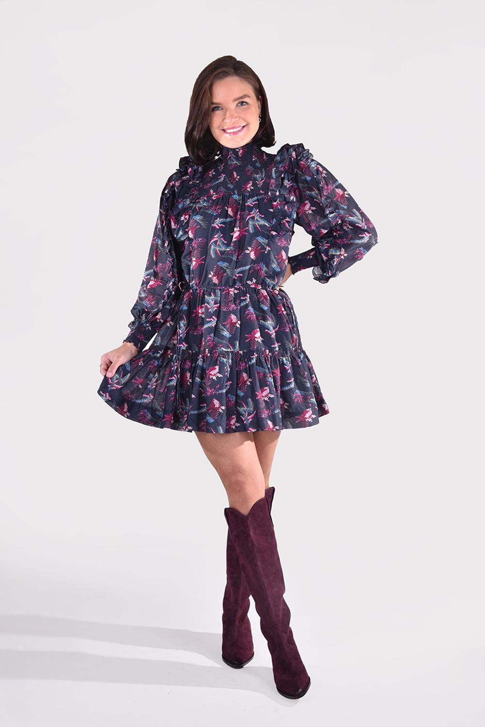 Magali Pascal jurk Laurena D19 zwart