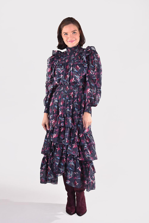 Magali Pascal jurk Paula D22 zwart