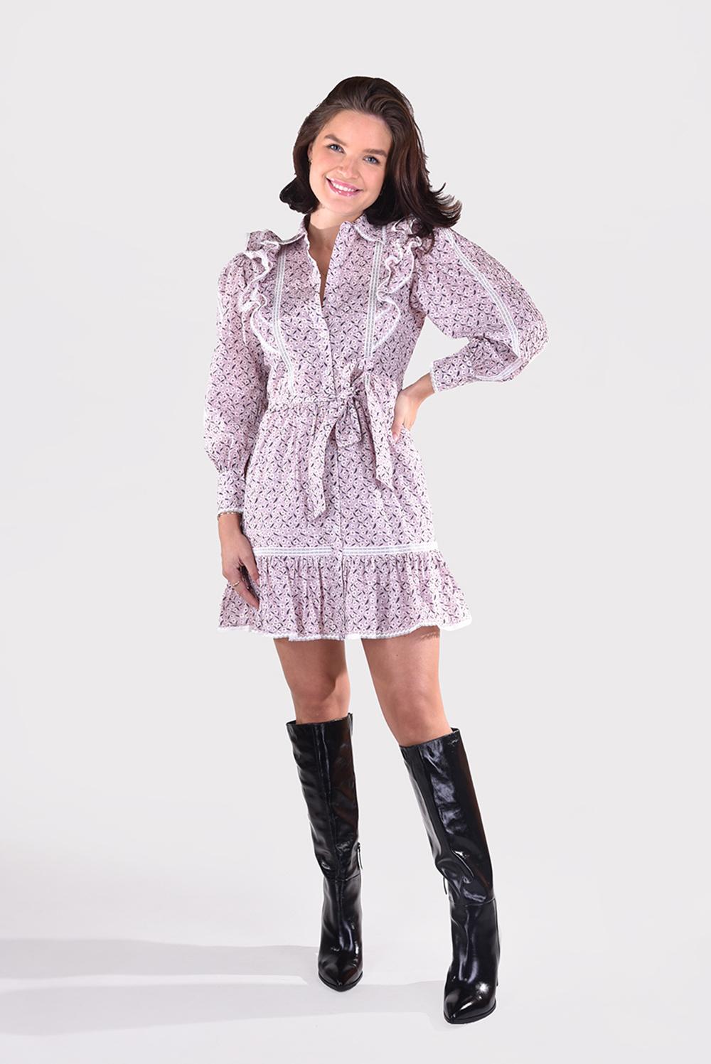 Magali Pascal jurk Jacky D08 multi